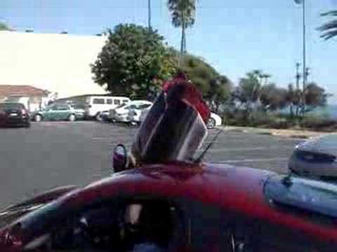 Saleen S7 TT Arriving in Laguna Beach