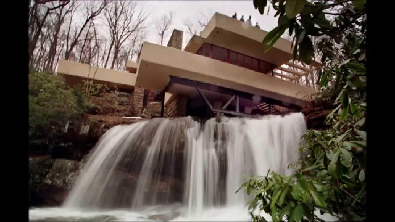Frank lloyd wright youtube for Wright la casa sulla cascata