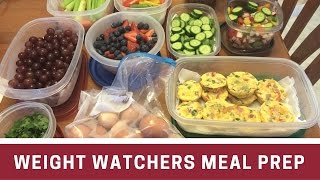 Weight Watchers | Meal Prep | 06.11.16
