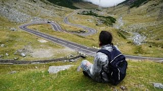 Transfagarasan - the most beautiful road in Romania