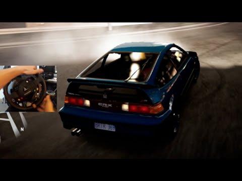 FH2 GoPro My Rexy !! Duracell Car Pack - Honda Crx Cruise!