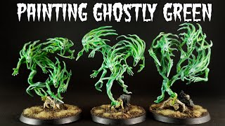 Painting Miniatures: Ghostly Green