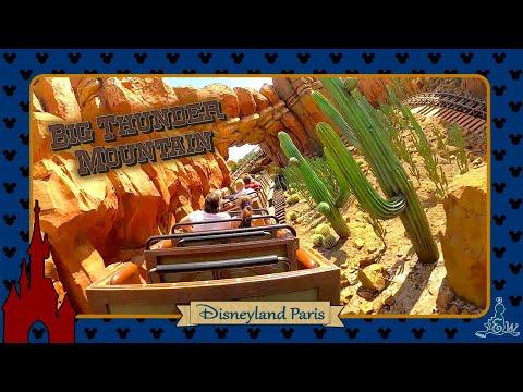 [Disneyland Paris] On-ride Big Thunder Mountain (Mine Train Coaster)