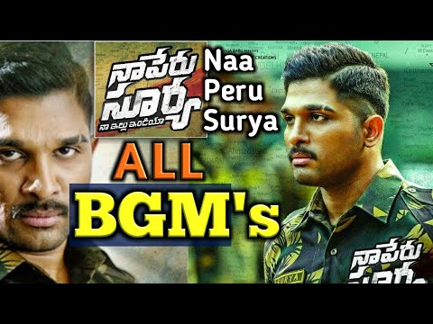 naa peru surya background music