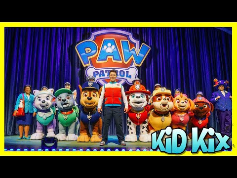 PAW PATROL LIVE Race To The Rescue 🌞 Favorite Song & Dance For Kids