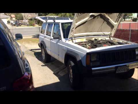 1991 Jeep Cherokee XJ - No arranque y no chispa