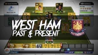 FIFA 13 | Squad Builder | West Ham Past and Present Feat. TOTS Ferdinand and TOTS Carrick