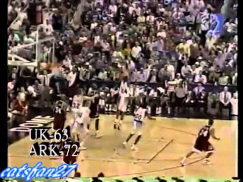 Cats Classics: Kentucky vs. Arkansas 3/12/95