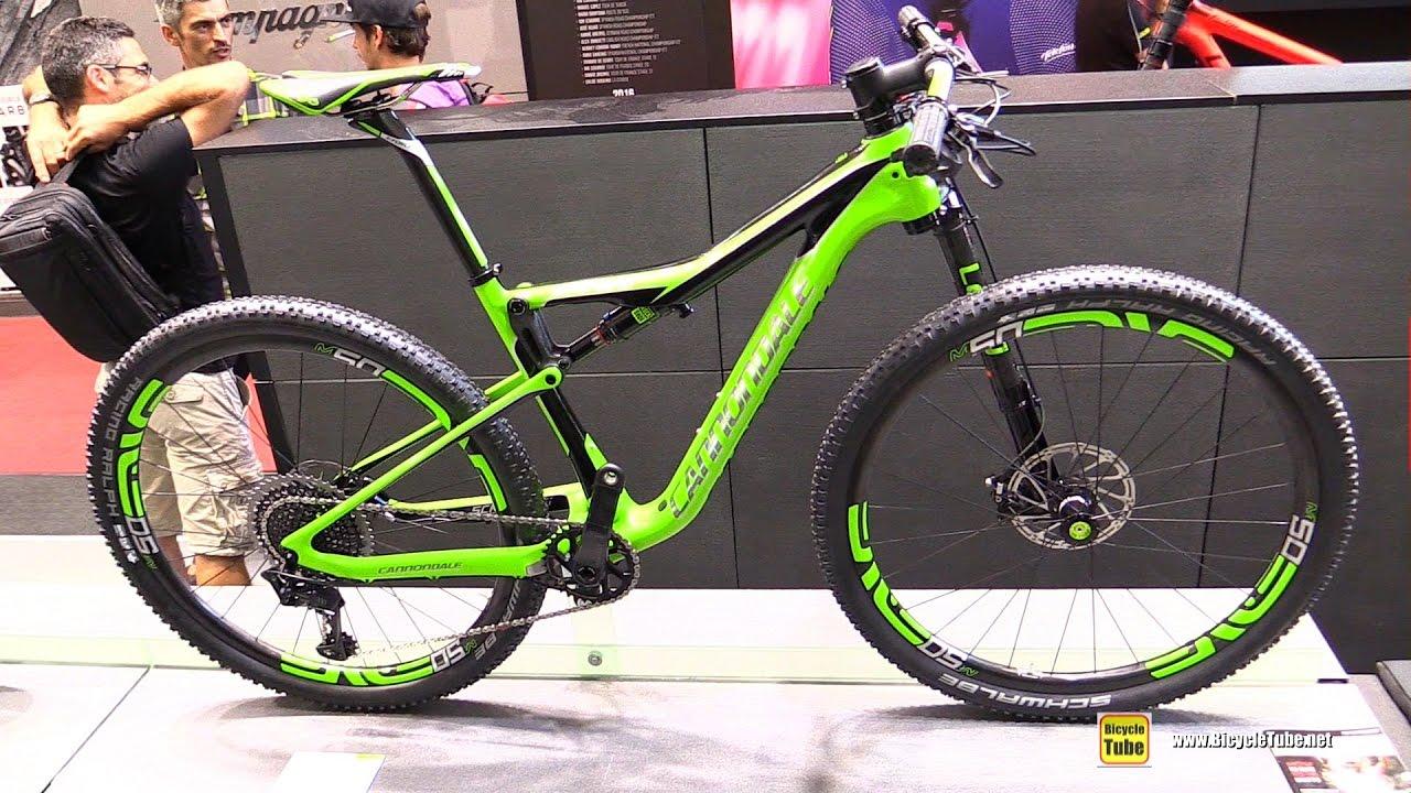 2017 Cannondale Scalpel Si Team Lefty Mountain Bike - Walkaround - 2016  Eurobike 9149a912d