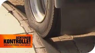 Parkplatznot EXTREM: ZERSTÖRT der LKW den Bordstein? | Achtung Kontrolle  | kabel eins