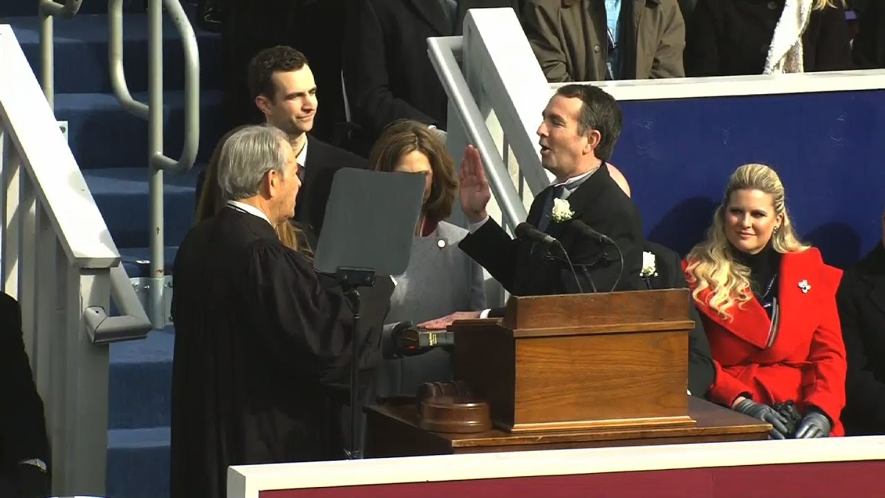 Ralph Northam pledges less toxic politics as Virginia's governor