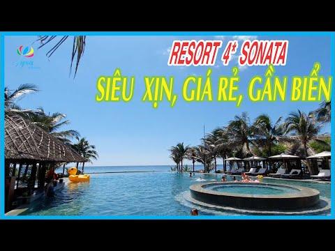 Du Lịch Phan Thiết Tiến Thành Khám Phá Resort Sonata Siêu Xịn, Gần Biển Giá Rẻ