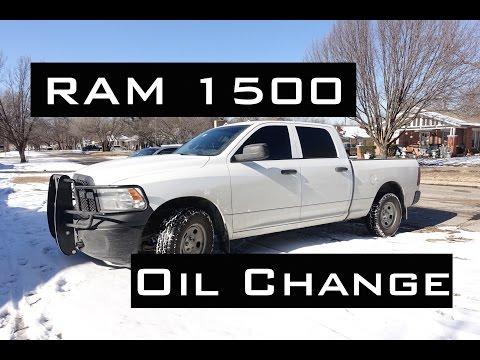 RAM 1500 Oil Change | HEMI 5.7L | 2009-2017