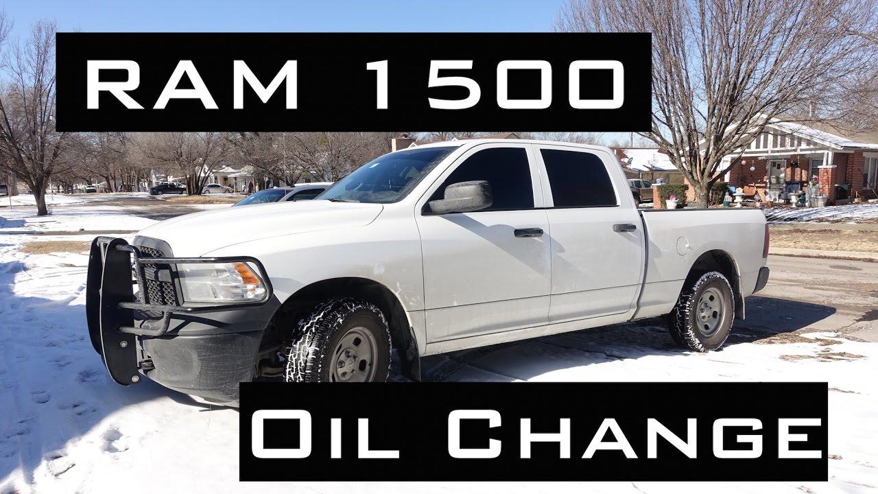 2013 dodge ram 1500 5.7 hemi oil change