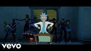 Rick And Morty  The Rick Dance (Official Fortnite Music Video)   THE RICK DANCE EMOTE