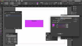 Indesign. Кнопка (1/4)