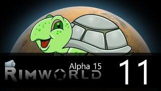 Rimworld - Alpha 15 - Lone Survivor Challenge - Episode 11 = Attack of the Passing Rhino