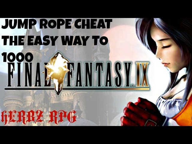Final Fantasy IX - Jump Rope Mini Game Cheat - The Easy Way