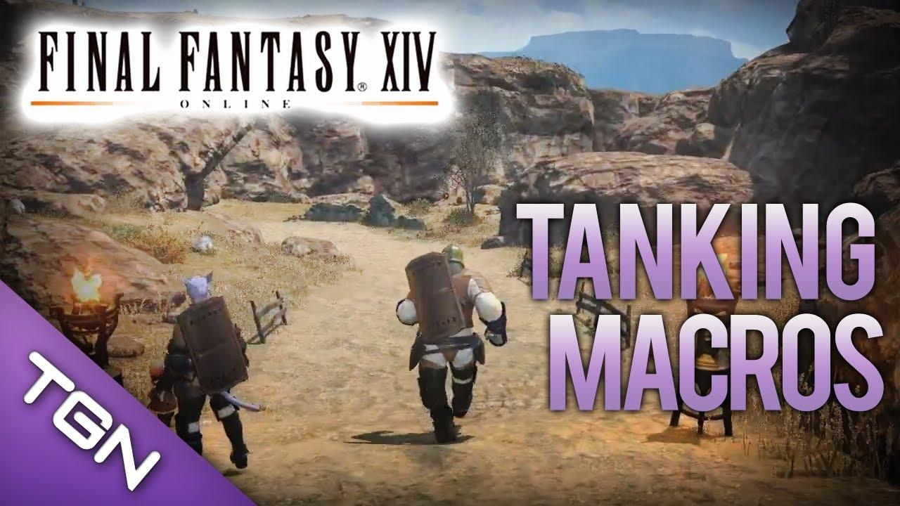 Final Fantasy XIV : Useful Tanking Macros
