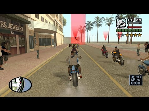 Chain Game 48 mod - GTA San Andreas - How to do Little Loop at the beginning of the game