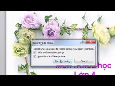 Hướng Dẫn Ghi Âm Và Ghi Hình Trên Microsoft Powerpoint 2010 Trở Lên - Học Online