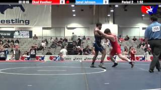 Chad Vandiver vs. Jamel Johnson at 2013 Las Vegas/ASICS U.S. Open