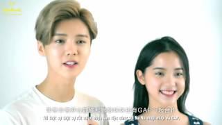 [Vietsub] 160417 Gap 2016 Summer Collection - Luhan & Nana Ou Yang