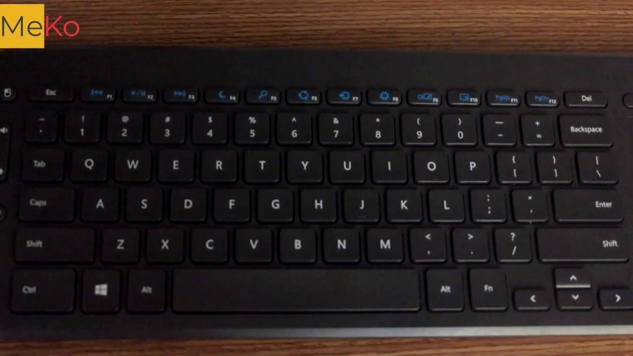 Review bàn phím không dây Microsoft All-In-One Media
