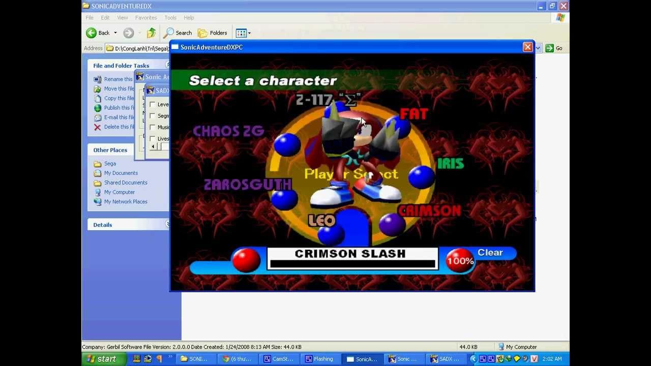 Скачать sonic heroes 2 на компьютер