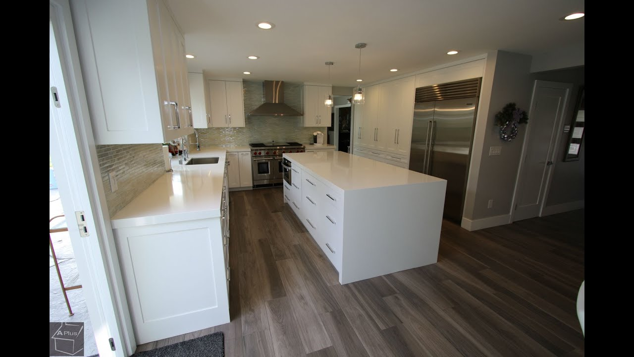 home kitchen remodel with room addition in villa park orange county - Orange County Kitchen Remodel