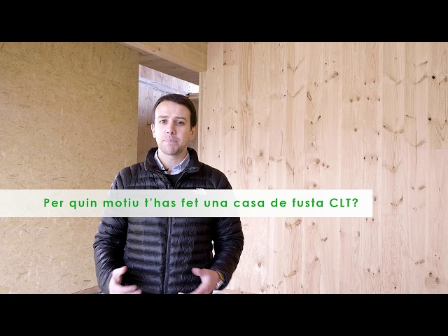 ¿Por qué me he construido la casa con madera CLT?