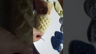 Şık krokodilli terlik yapımı