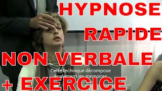 Formation en hypnose rapide non verbale - méthodes d'analgésie et de crise de guérison + exercice!