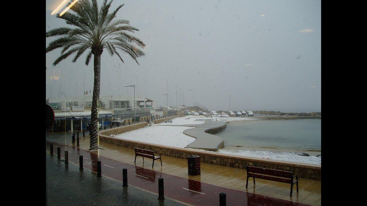 Schnee über Mallorca - Snow on Mallorca - Nieve en