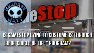 [Gaming] Is GameStop lying to customers through their