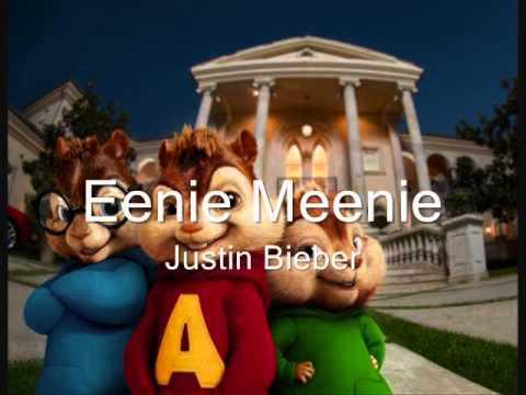 Eenie Meenie~ Justin Bieber ft Sean Kingston~ Chipmunk Version