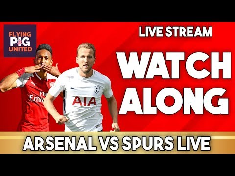 Arsenal VS Tottenham 2-2 Watch Along | North London Derby Live