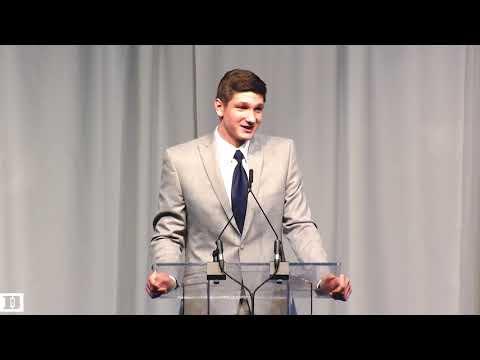 Grayson Allen Banquet Speech