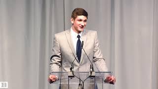 Grayson Allen Banquet Speech (4/19/18)