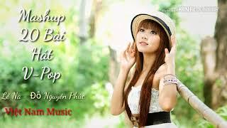 Việt Nam Music | Mashup 20 v-pop của Lê Na - Đỗ Nguyên phúc