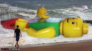 أغرب 10 أشياء قذفت بها الأمواج إلى الشاطىء !!