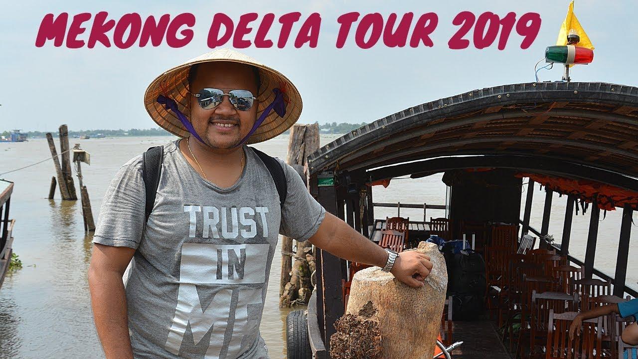 Mekong delta Tour 2019 || Day trip Saigon || Vietnam Vlog 4