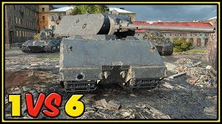 Maus - 11 Kills - 1 VS 6 - World of Tanks Gameplay