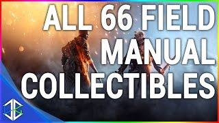 battlefield 1 all 66 field manual locations collectibles codex