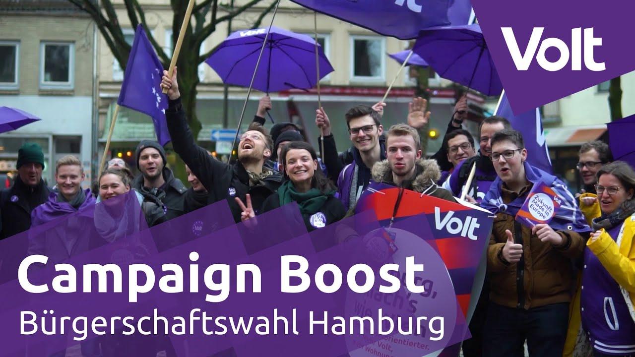 YouTube: Volt - Highlights vom Campaign Boost Event in Hamburg   #VoteVolt #HHWahl #Buescha2020