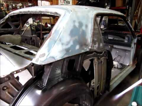 1965 Mustang Quarter Panel Install Part 1 Youtube