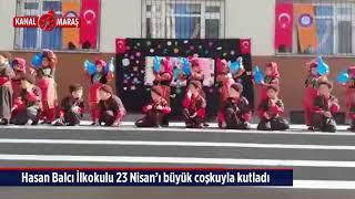 Hasan Balcı İlkokulu 23 Nisan'ı büyük coşkuyla kutladı