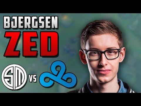 Bjergsen Zed Review - TSM vs C9 - League of Legends