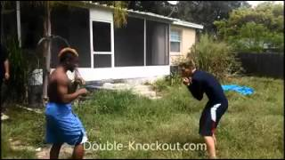 Street Fight & Knockout - Boxing Knockouts Crazy Real Life Fight # fight 32