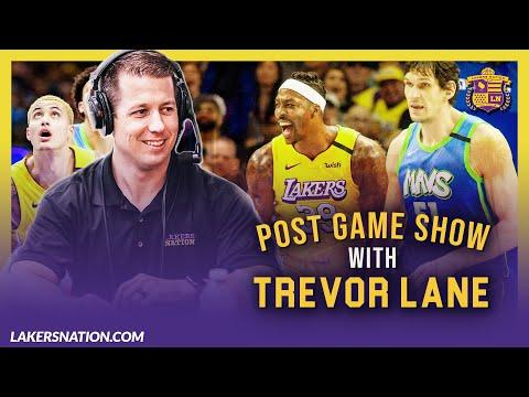 Lakers Corral Mavs As Lebron James Kyle Kuzma Catch Fire